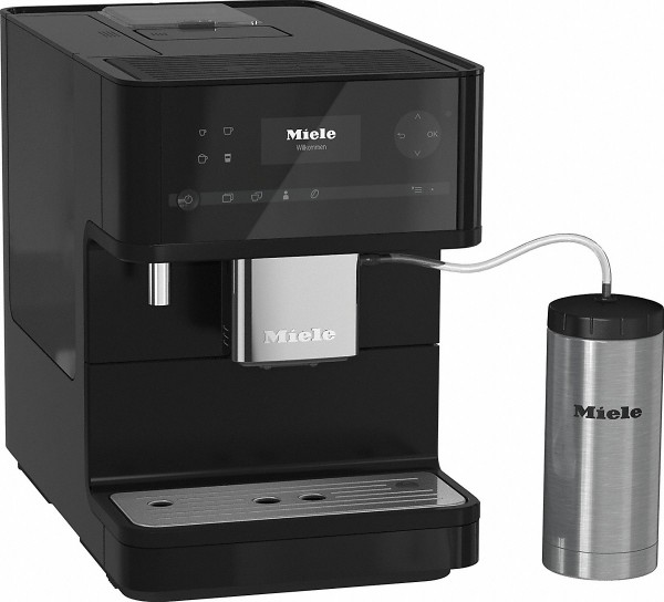Miele CM 6350 BlackEdition Stand-Kaffeevollautomat
